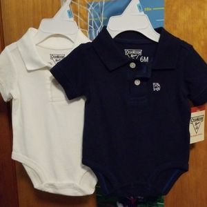 BABY  BOY  OSHKOSH 4 PIECES  SIZE 6 MONTHS